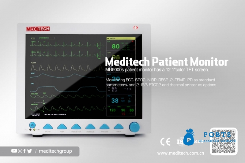 Meditech Patient Monitor (Medical Devices)