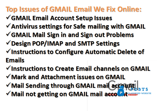 Lock-Down Offer for Gmail Account Issues Online