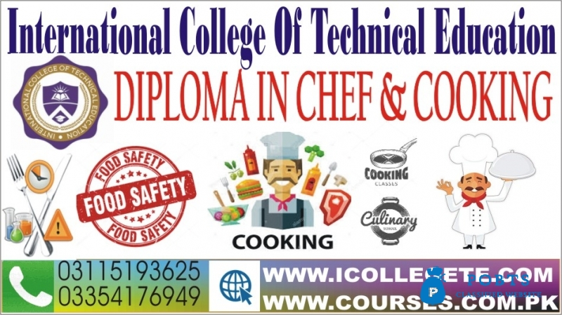 Chef and Cooking Experienced Based Diploma Course in Gujarkhan Kahuta Rawalpindi