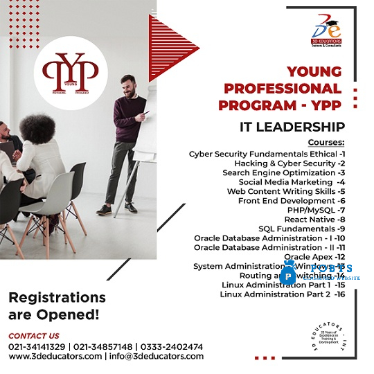 Young Professional Program –IT Leadership Live Online Course
