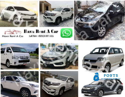 Rent a car In Islamabad