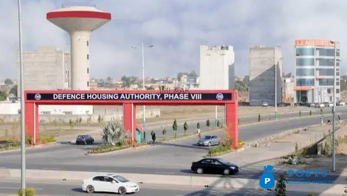 5 Marla Plot for sale DHA Phase 8