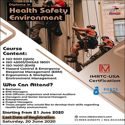 Diploma in Food Safety Management System