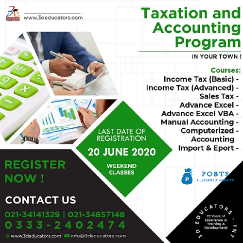 Taxation and Accounting Training Program