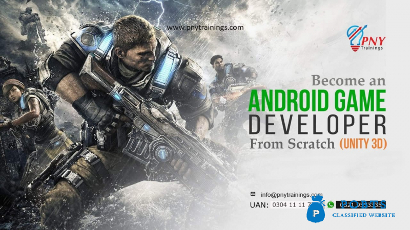 Become an Android Game Developer - (Unity 3D)