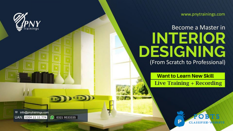 Become a Master in Interior Designing