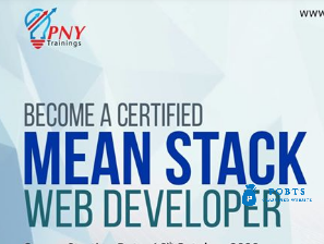 become a certified mean stack web developer