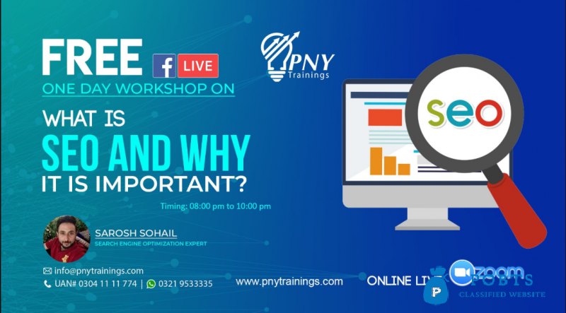 Free One Day Workshop on What is SEO and Why it is important?