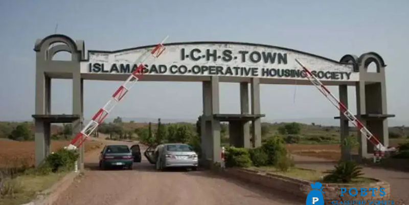 Islamabad coprative housing society plot for sale