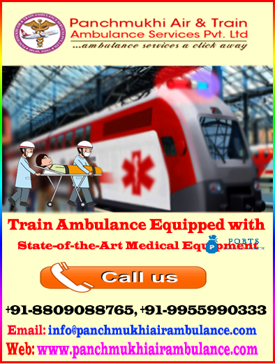 Get Best and Low-Cost Charter Air Ambulance in Gaya by Panchmukhi