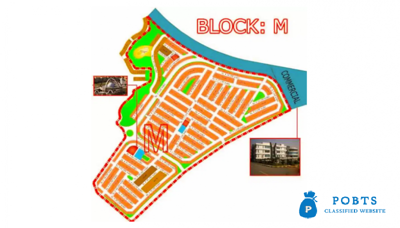 5 Marla Plot M Block Phase 8 Bahria Town Islamabad for sale