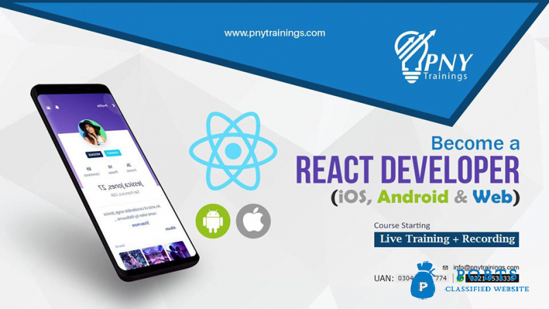Become a React Developer (iOS, Android & Web)