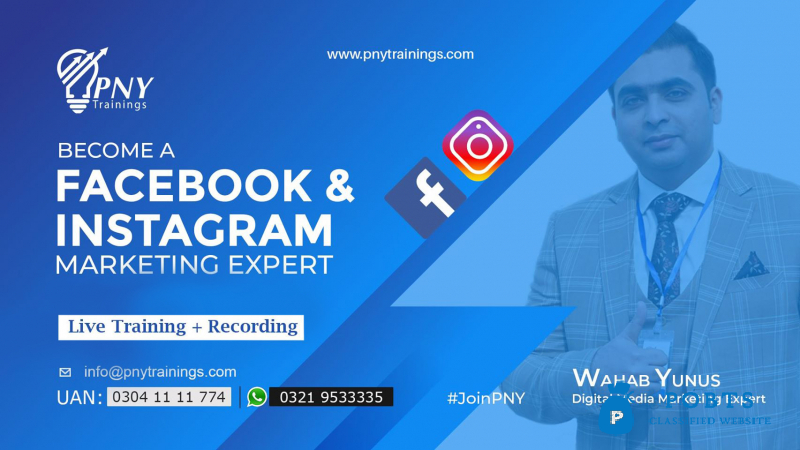 become a facebook and instagram marketing expert