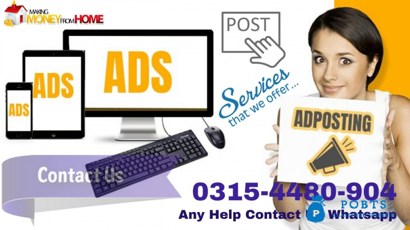 Free Classified ads posting on classified sites. Home Based Job.