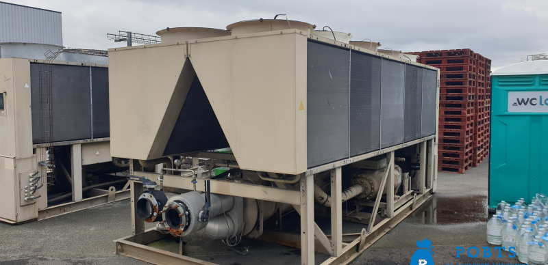 USED CHILLERS TRANE