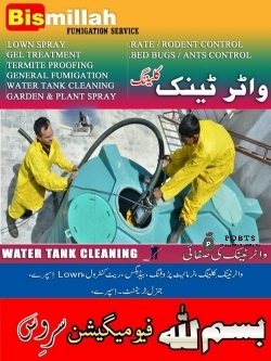 Bismillah fumigation / Insect control & tank clean service