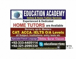 EDUCATION ACADEMY (Home Tuition Services)