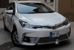 Toyota corolla gli 2018 model is available for Rent/Special Booking