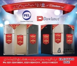Dawlance & #Pel #FRidge  Easy installments par HASIL Karen  (full size fridge Sirf 3990 advance)