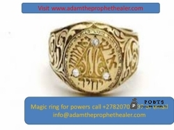 Get magic ring that delivers solve money problems call +27820706997