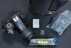 New dslr Nikon D3400 with 18 55 lens
