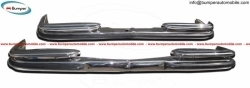 Mercedes Benz W108 bumpers (1965-1973) stainless steel