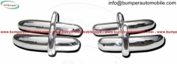Saab 92 and Saab 92b bumper  (1949-1956 ) stainless steel