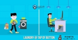 Pakistan's first ever online Home Laundry Service