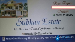 Houses available for rent in Punjab small, Alfalah town, UBl Society, Alameen society  SUBHAN ESTA