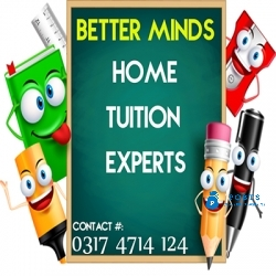 GET PROFESSIONAL TUTOR FOR HOME TUITION OF ALL CLASSES IN KARACHI