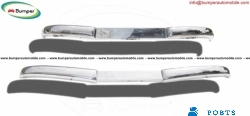 Mercedes  W136 170 Vb bumper kit (1952 – 1953) stainless steel