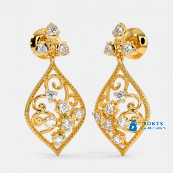 The Cresta Drop Earrings