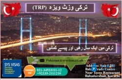 Turkey visit visa (TRP)