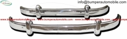 Saab 93 bumper kit (1956-1959) stainless steel