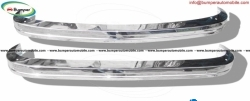 Volkswagen Karmann Ghia year (1972-1974) bumper stainless steel
