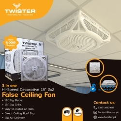 False Ceiling Fans In Rawalpindi
