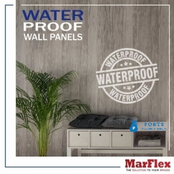 MarFlex PVC Wooden Flooring Vinyl Tiles and PVC Wall Panels