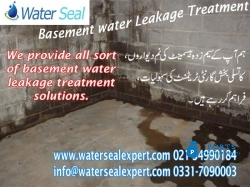 Basement Water Proofing in Pakistan