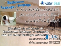 Bathroom Leakage / Seepage in Pakistan