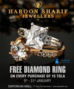 Diamond rings in Pakistan