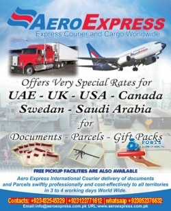 Low cost International delivery of Documents Parcels & Gift Packs by Aeroexpress