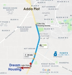 3 Marla Residential Plot Available in Dream Housing Society