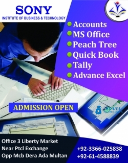 Computerized Accounting Courses In Multan Pakistan