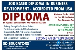 Diploma in Business Administration And Development