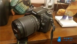 Nikon D7100 with 18-105 VR and 50mm