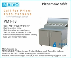 Pizza Prep Table In Pakistan, Table for Pizza Making, Prep Table for Pizza Making, Salad Bar Counter