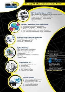 Web & Mobile Application Development - Horizon Technologies