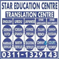 certified Translation center in jhang Pakistan