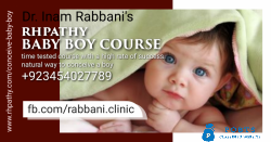 Best homeopathic Conceive Baby Boy course with high success