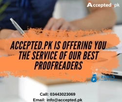 Experienced Editors At AcceptedPk